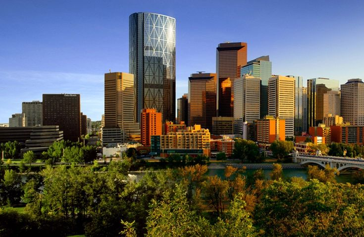 More great views of downtown Calgary.