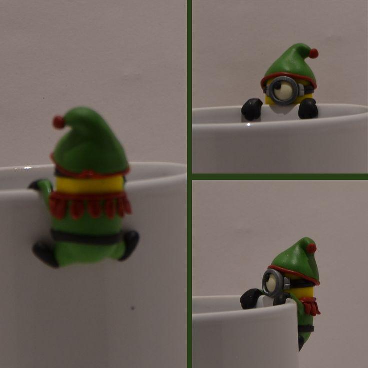 Karácsonyi manó minion