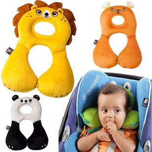 Cheap Seat Covers, Buy Directly from China Suppliers: 8CharactersBaby Soft Car Headrest Children travel U Shape Head Pillow Cover Cartoon Seat Covers baby protect neck pillo