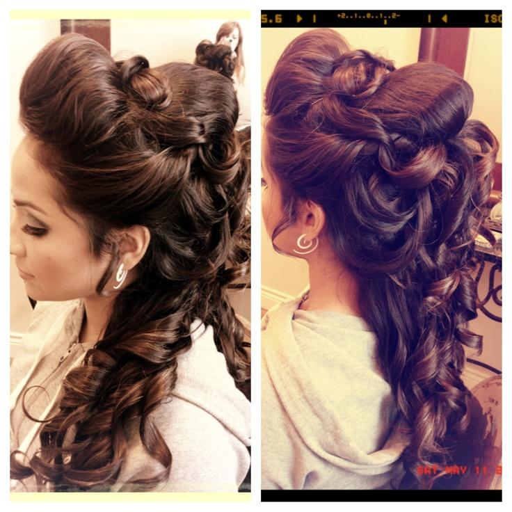 Quinceanera Hairstyles 15 prettiest half up quinceanera hairstyles Find This Pin And More On Quinceanera Hairstyles By Myquinceanera1