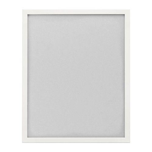 FISKBO Ramka, biały biały 40x50 cm