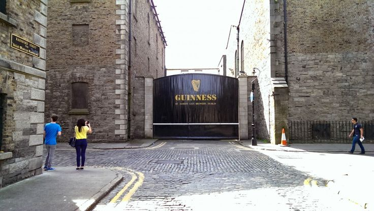 The View from the Guinness Brewery