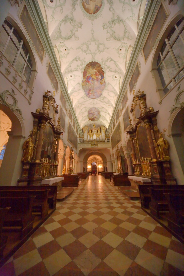 St Peter Abbey In Salzburg, First Performance Of Mozart's Great Mass In C  Minor