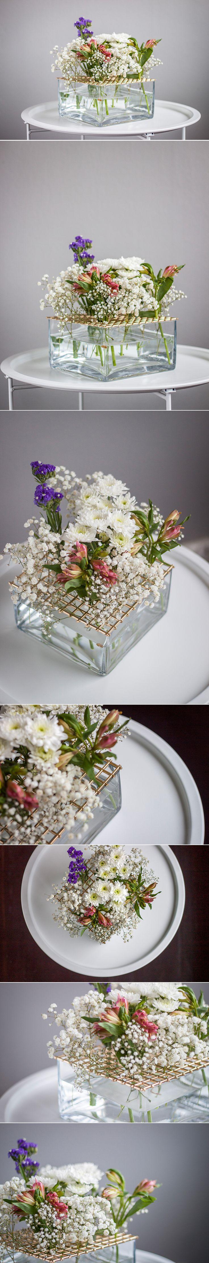 Stinas version av vasen 'Äng' från Klong. Monthly Makers februari, tema återbruk.