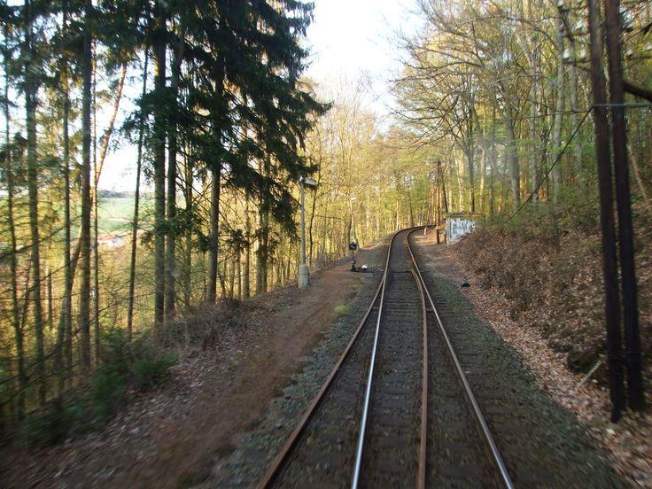 Line Praha- Dobříš, this is a digression fot Mníšek pod Brdy factorys