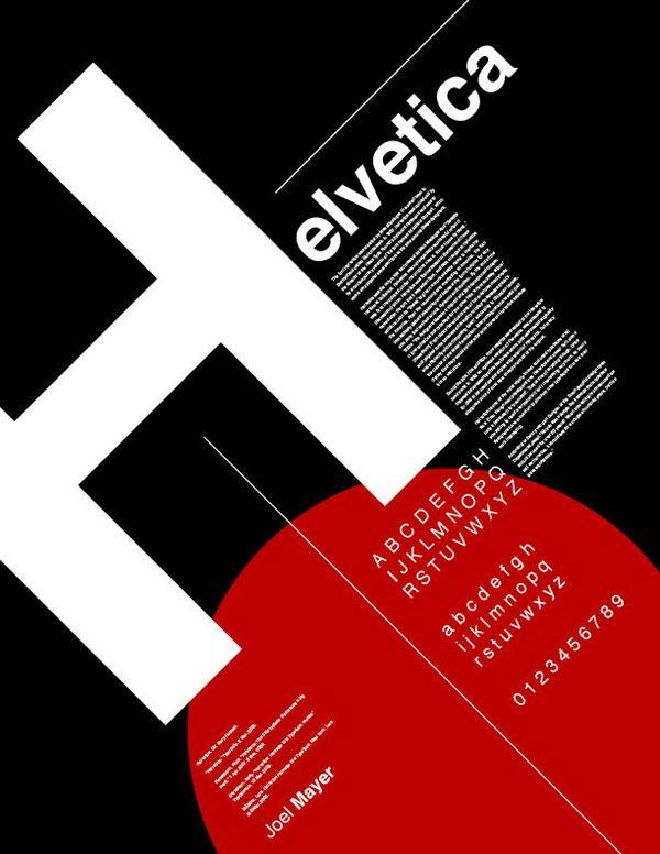 Typographic Posters by Joel Mayer, via Behance