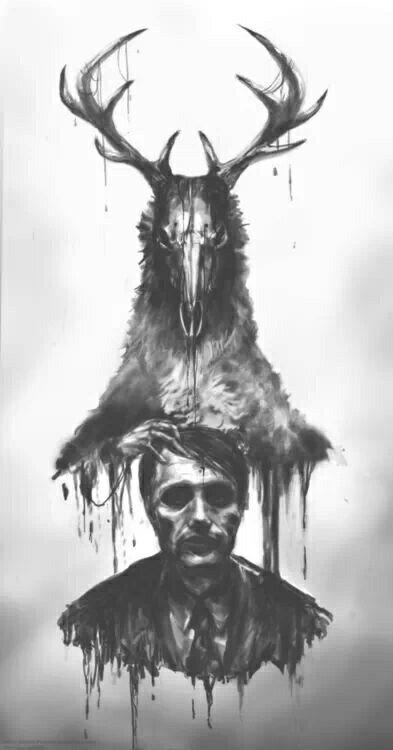 Wendigo. | Hannibal wallpaper, Hannibal, Wendigo