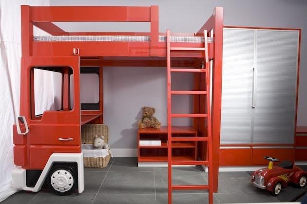 Łóżko Straż Pożarna