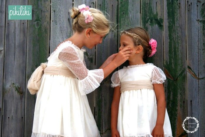 Hoy os enseño los vestidos de arras de la nueva colección de PIKILIKI