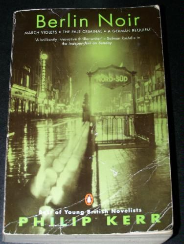 Berlin Noir by Philip Kerr. The most atmospheric novels about the Weimar era Berlin thru the aftermath of WWII. Riveting for history buffs of this era.