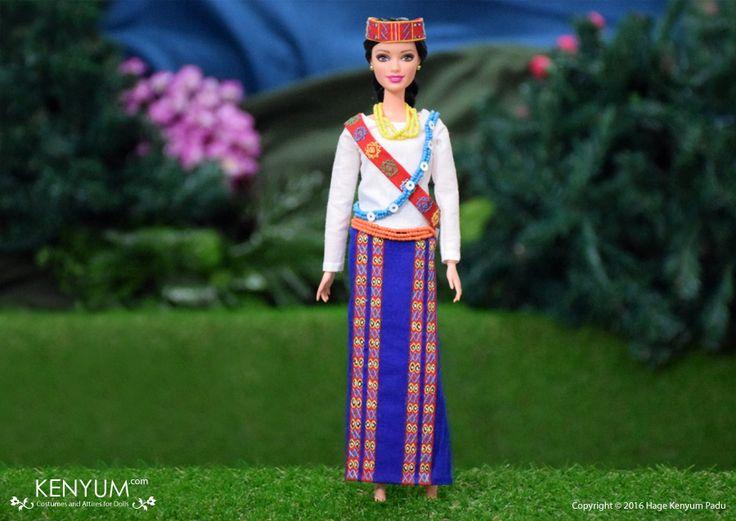 Barbie in Wancho attire