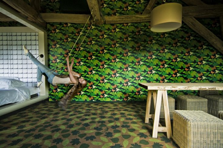 Gerben van der Molen kamer 30, Suite in the Park, schommel_NL - Hotelschool Maastricht
