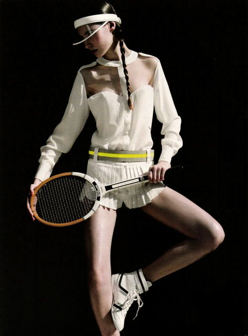 #ranitasobanska #fashion #inspirations tennis perfection http://www.creativeboysclub.com/