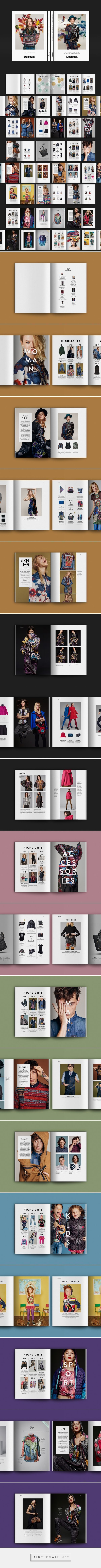 The Collection Book AW16 on Behance