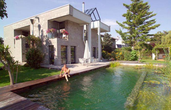 piscina in cemento ma ibrida