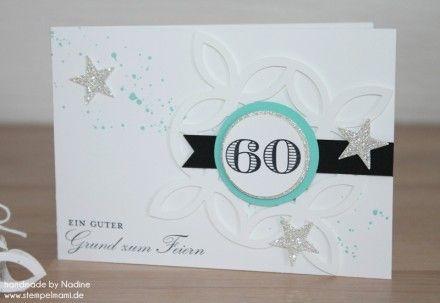 Geburtstagskarte Stampin Up Einladung Birthday Card Karte Card 016