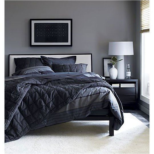 Dark Gray Bedrooms: Modern Bedroom Decor
