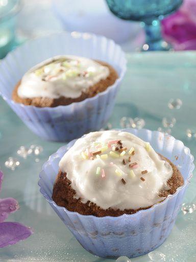 Cupcakes à la vanille - Recette de cuisine Marmiton : une recette