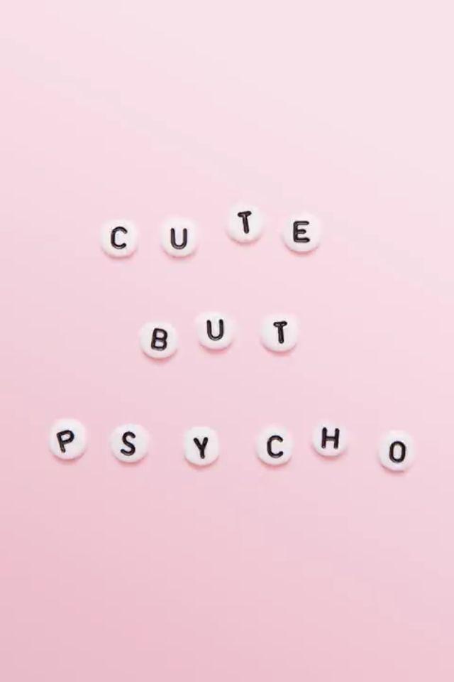 Fofa mas psicopata