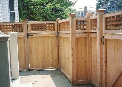 wood fence u0026 gate company boston ma residential and commercial custom fencing