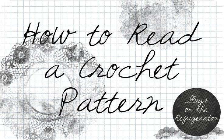 How to Read a Crochet Pattern, brilliant! ❥Teresa Restegui http://www.pinterest.com/teretegui/ ❥
