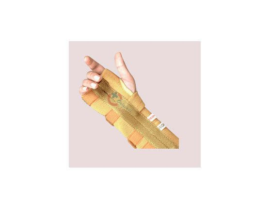 At Original Medical Equipment pvt.ltd we are Rehabilitation Aids products manufacturer and worldwide suppliers. Our orthopedic products are Wrist Splints, Elbow Splints, Thumb Spica Splint, Thumb Abduction Splint, Elastic Wrist Splint left-right, Wrist Binder etc.  Know more about our this Rehab products:-   https://goo.gl/I6KyAB