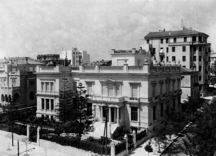 Αθήνα, 1931, το Μουσείο Μπενάκη.