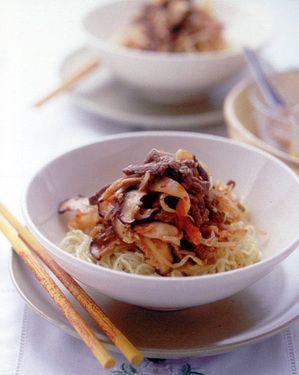 牛肉&キムチの冷やし中華 | 大庭英子さんのレシピ【オレンジページnet ...