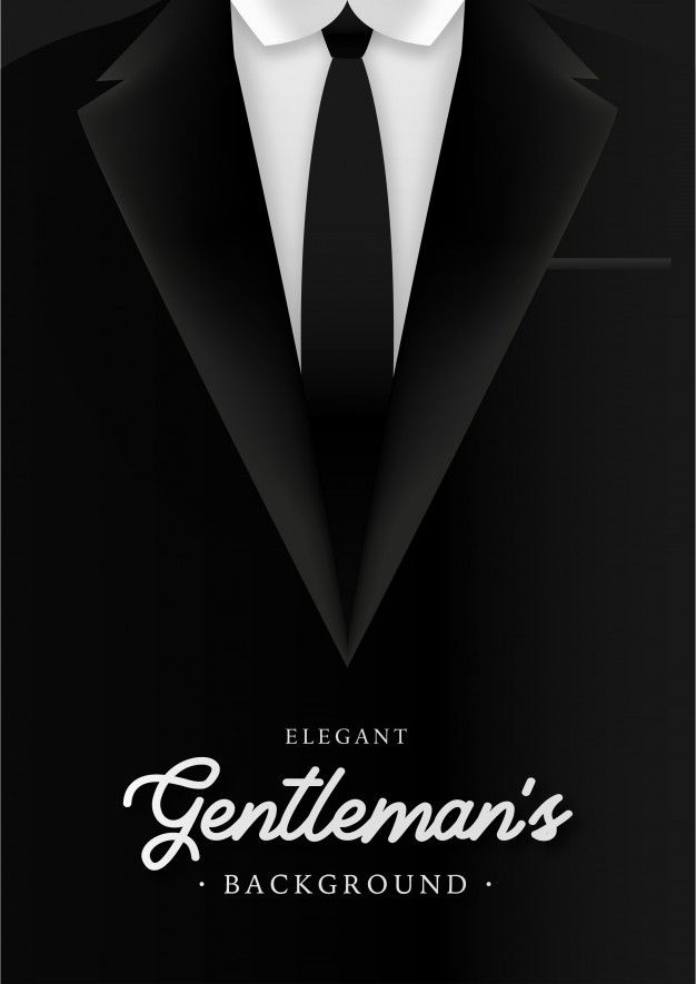 Elegant Gentleman S Background With Business Man Suite Free