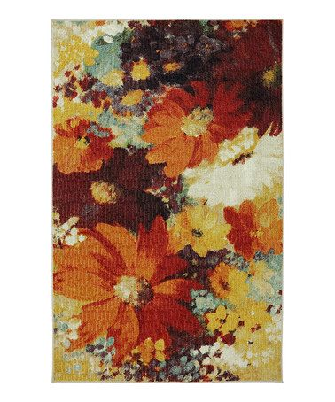 Another Great Find On Zulily Floral Catherine Rug