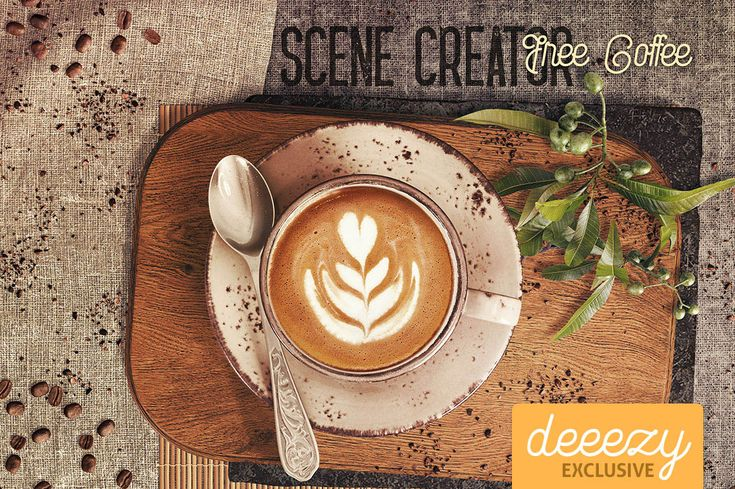 Free Coffee Scene Creator | Deeezy - Freebies with Extended License