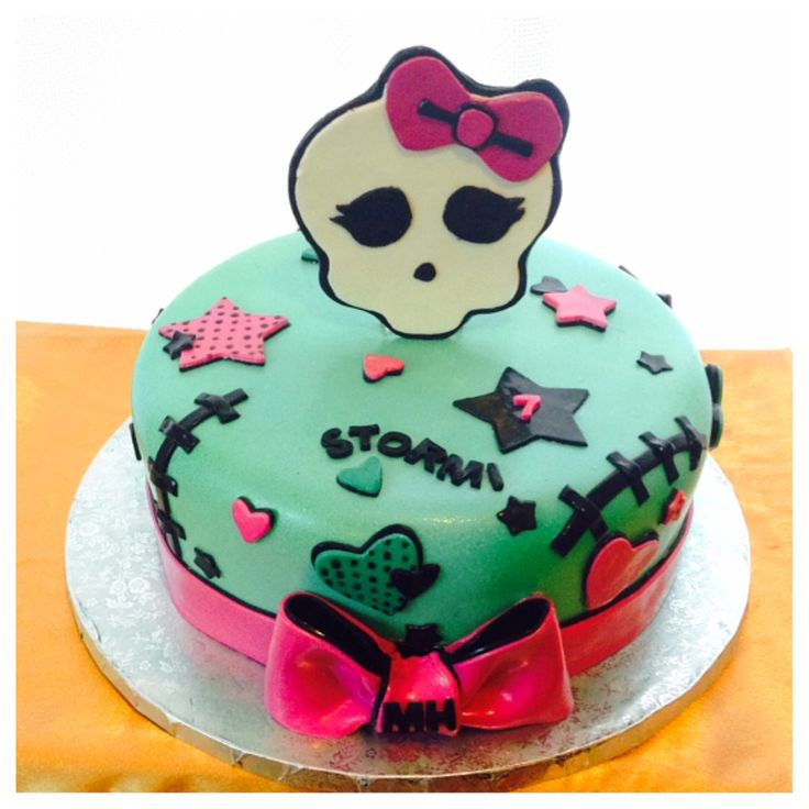 Monster High Birthday Cake Pics
