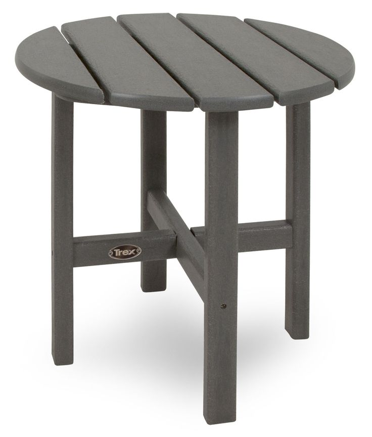 Trex Outdoor Furniture Cape Cod Round 18 Side Table