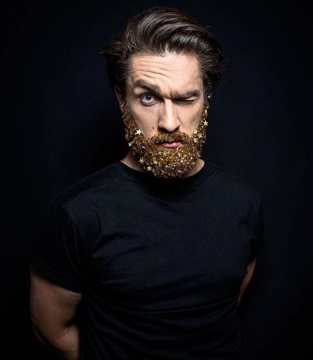 Glitter Beard Trend | InspireFirst