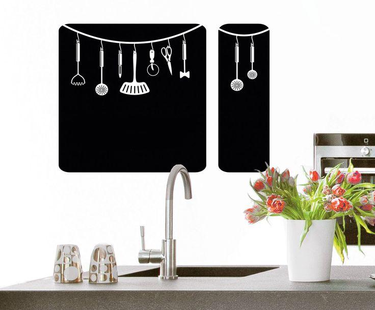 """Dekorativní popisovatelná samolepka """"Kitchen Equipment""""   Westwing Home & Living"""