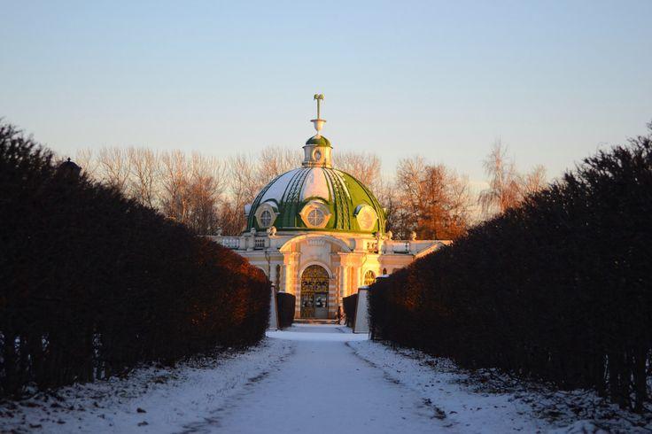 Москва, парк Кусково, декабрь 2015.