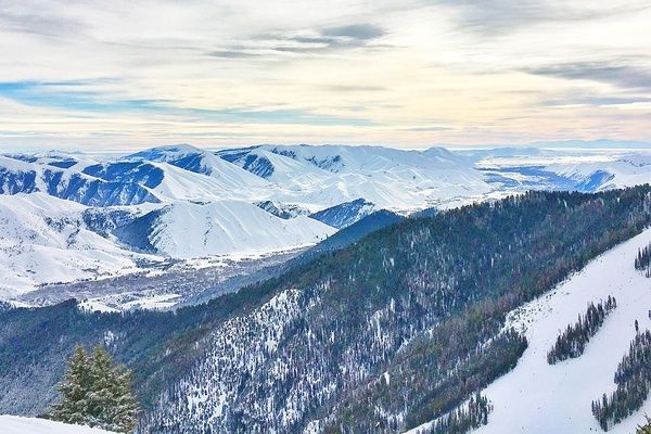 Sun Valley, Idaho Mountain Range