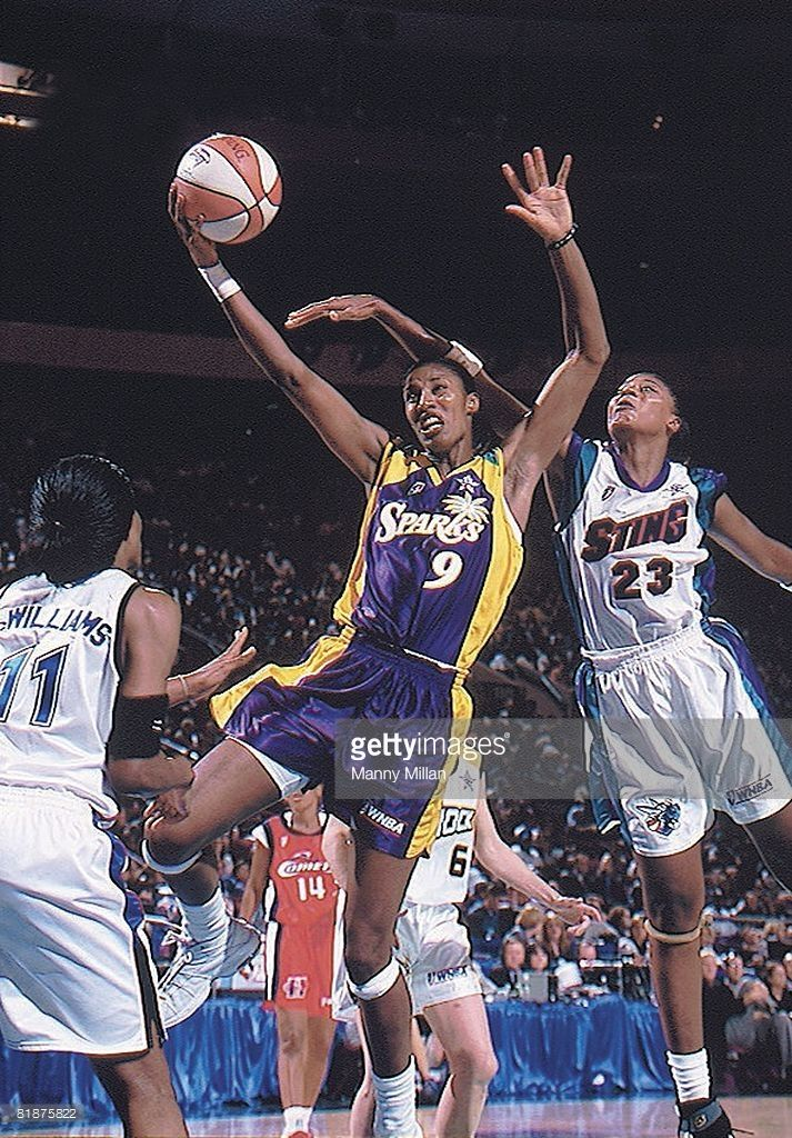 News Photo : All Star Game, Los Angeles Sparks Lisa Leslie in...
