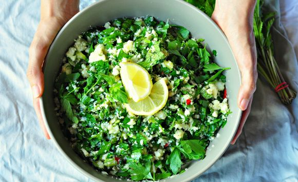 This Cauliflower Tabouleh will add a vibrancy to any dinner table. The fresh flavours are given an extra boost by the chilli kick and it complements a huge range of main dishes – try it alongside our Turmeric and BBQ Spiced Roast Chicken or our Silverside Beef. Ingredients 1 head cauliflower 1 bunch parsley, chopped 1/2...