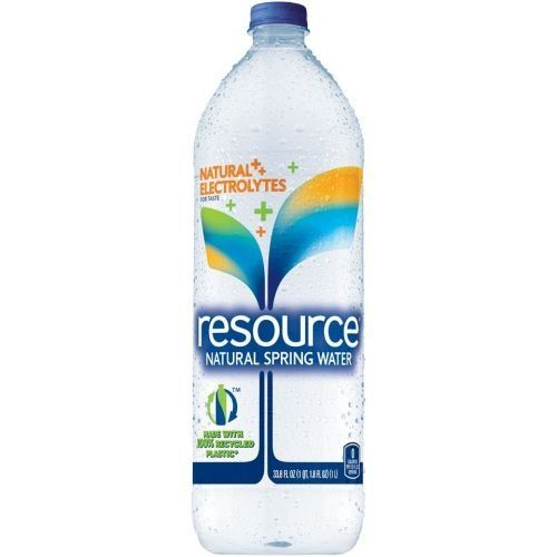 Resource Natural Spring Water, 33.8 Fluid Ounce -- 12 per case. ** Want additional info? Click on the image.