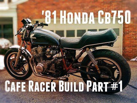 1981 CB750 Cafe Racer Build Part #2 - AMERICAN PAINT JOB - YouTube