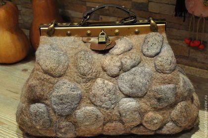 """Женские сумки ручной работы. Ярмарка Мастеров - ручная работа. Купить Саквояж """"Осенний Бит"""" sac de voyage. Handmade."""
