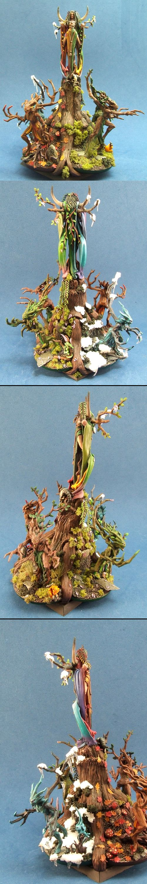 Iron painter round 5 Seasons.. Wood Elf spellsinger