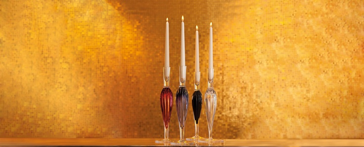 Luxe - limitovaná kolekce svícnů