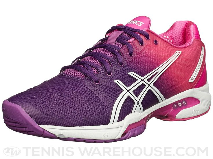 asics gel solution speed 2 women 39 s tennis shoes purple pink ombr access tennis pinterest. Black Bedroom Furniture Sets. Home Design Ideas