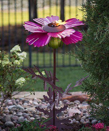 Love this Cosmos Flower Garden Torch on #zulily! #zulilyfinds