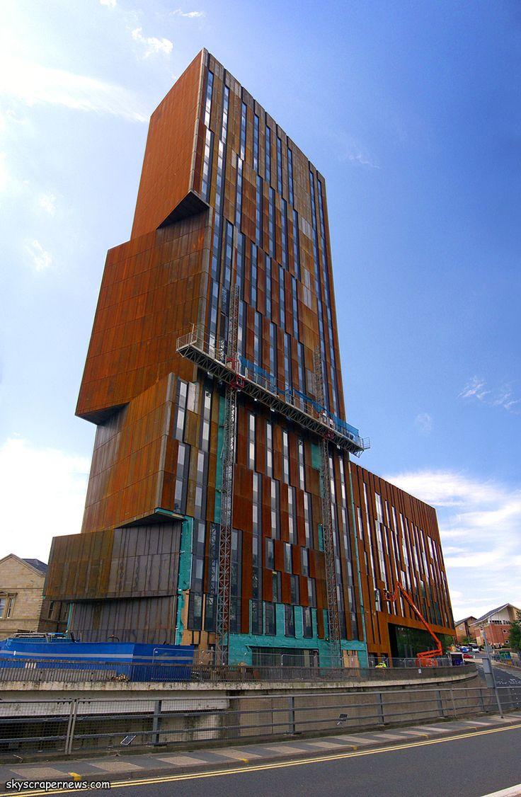 Broadcasting Place, Leeds University student accommodation - SkyscraperCity