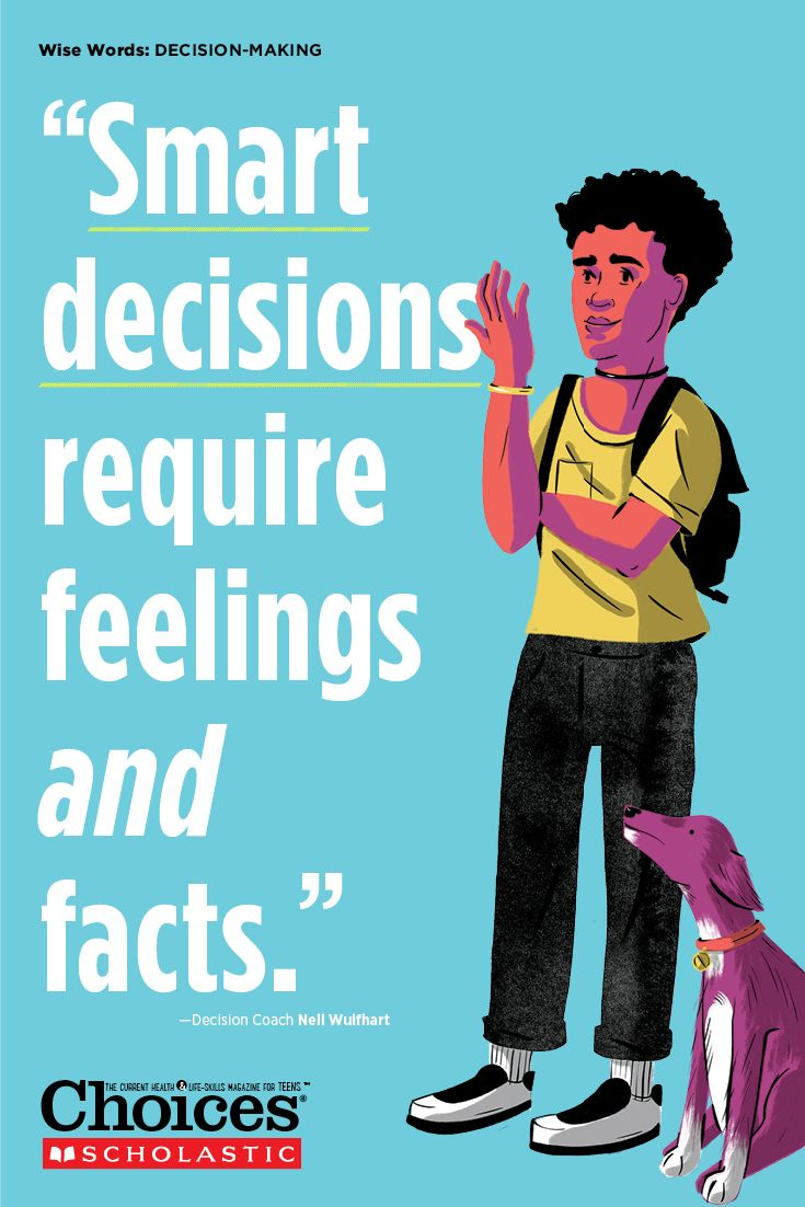 Making decision teaching skills teens