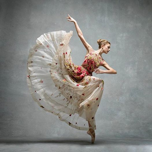 And, something magical...Miriam Miller, New York City Ballet. photo by Ken Browar and Deborah Ory of NYC Dance Projec
