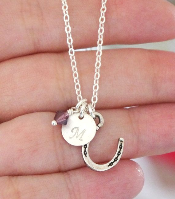 Cowgirl Necklace Cowgirl Jewelry Horse Shoe by MadiesCharms